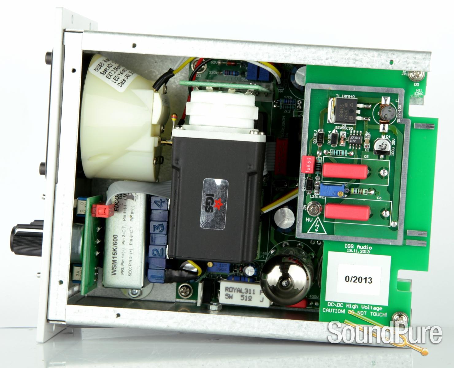 igs audio one la 500 series tube opto compressor demo open box. Black Bedroom Furniture Sets. Home Design Ideas
