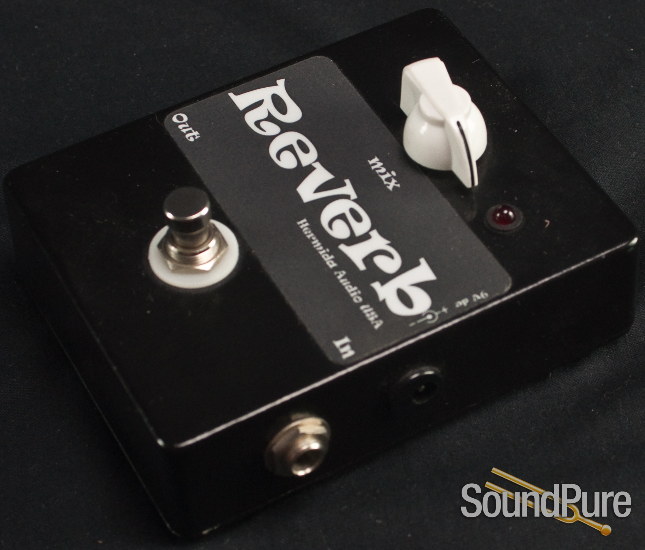 Hermida Audio Reverb Guitar Pedal - Used | Soundpure com