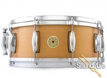 Gretsch 5.5x14 USA Custom Maple Snare Drum-Millenium Maple