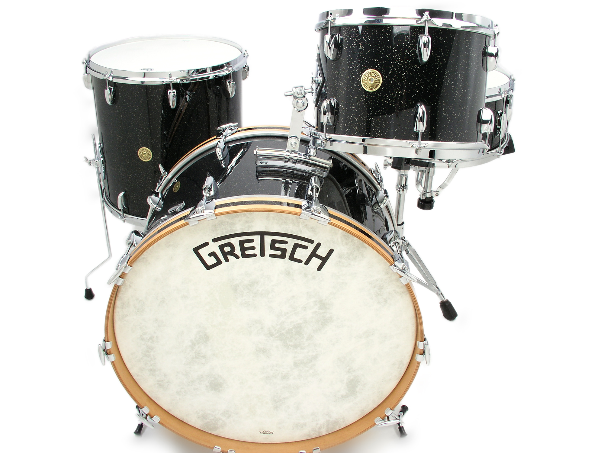 Gretsch 3pc Broadkaster Drum Set Anniversary Sparkle