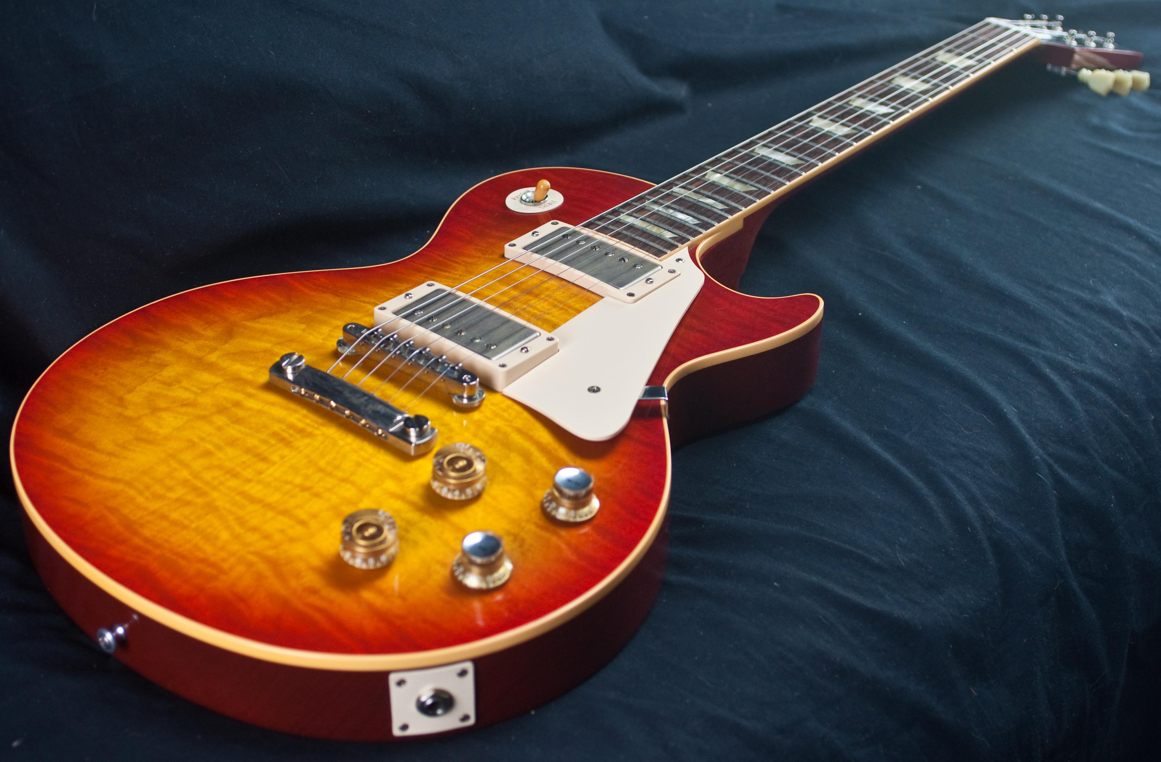gibson les paul custom shop 60 39 s reissue guitar used. Black Bedroom Furniture Sets. Home Design Ideas