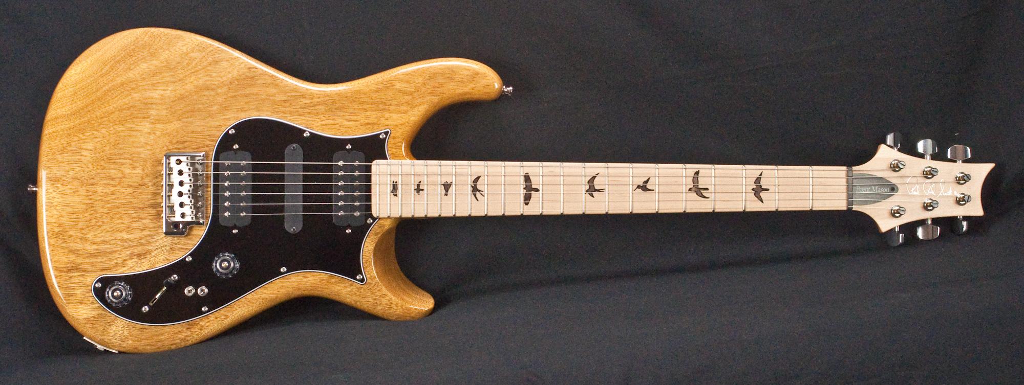 Prs Brent Mason Signature Natural Electric Guitar