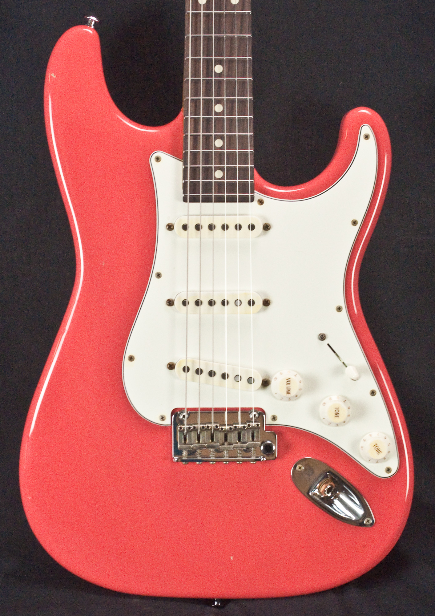 Suhr Classic Antique Fiesta Red Sss Electric Guitar Jst8k3c