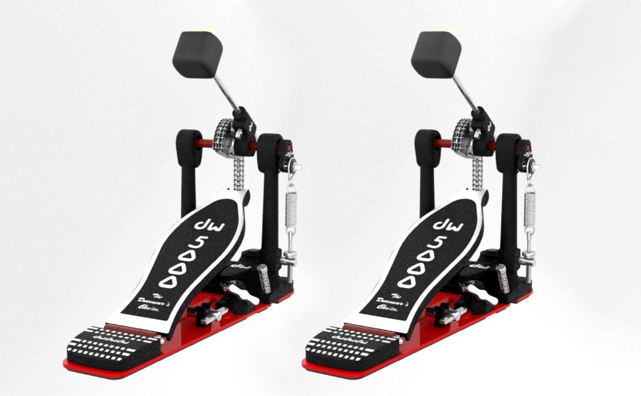 dw 5000 accelerator single bass drum pedal 5000ad4 2 pack. Black Bedroom Furniture Sets. Home Design Ideas
