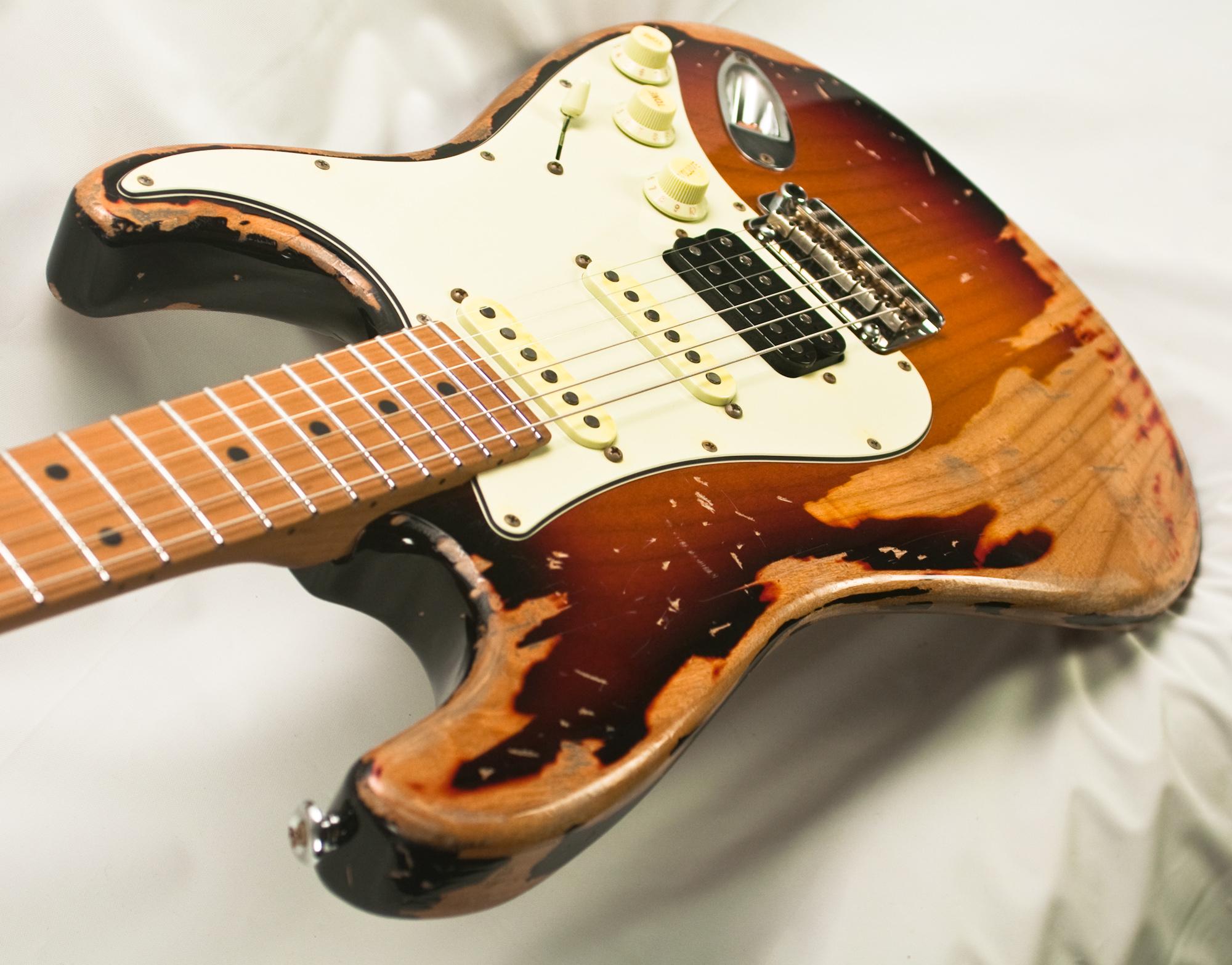 Suhr Classic Antique Extreme 3 Tone Burst Hss 28853